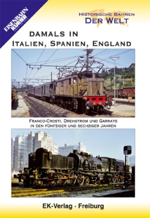 DVD: Damals in Italien, Spanien, England. Franco Crosti, Garrats und Drehstrom in den 50er und 60er Jahren