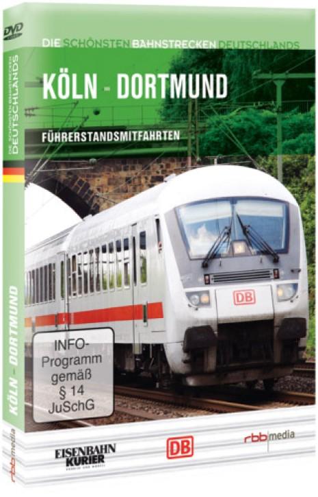 DVD: Die schönsten Bahnstrecken Deutschlands. Köln - Dortmund