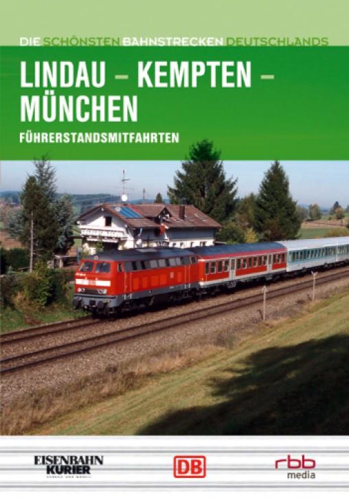 DVD: Die schönsten Bahnstrecken Deutschlands. Lindau - Kempten - München