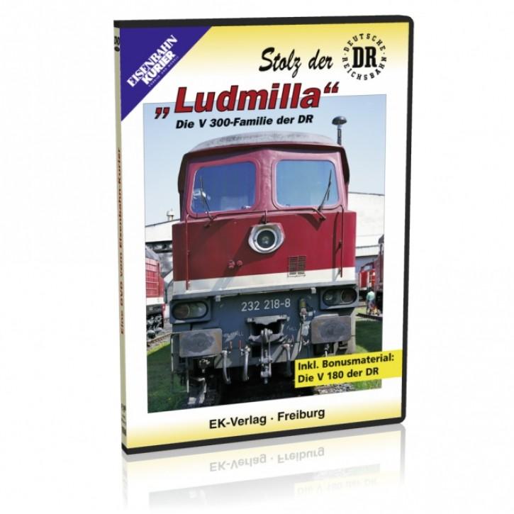 DVD: Stolz der DR. Ludmilla - Die V300-Familie der DR