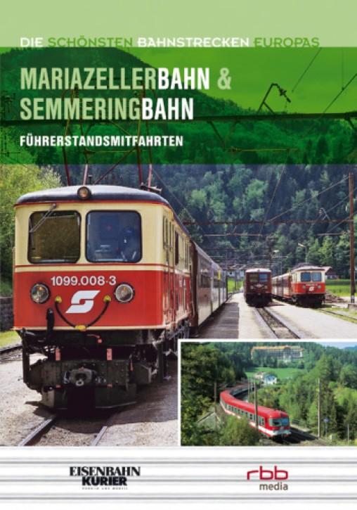 Doppel-DVD: Die schönsten Bahnstrecken Europas. Mariazellerbahn und Semmeringbahn