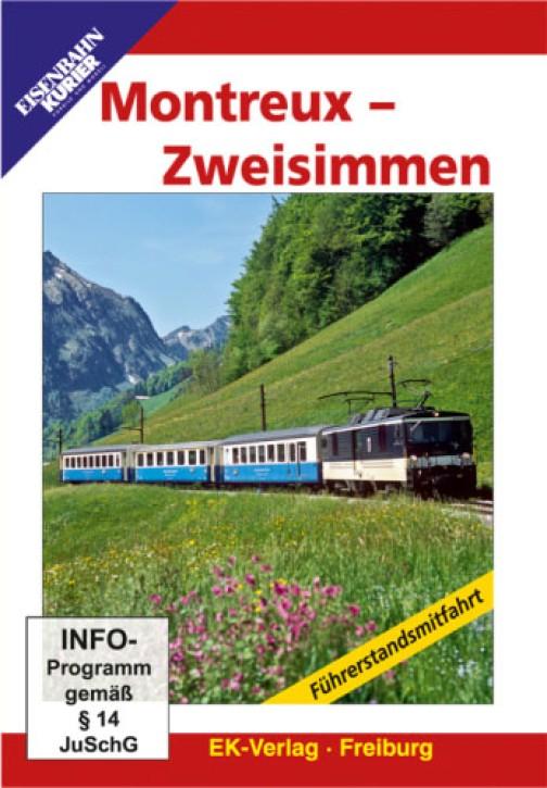 DVD: Montreux - Zweisimmen. Führerstandsmitfahrt
