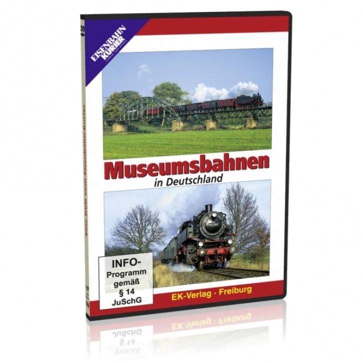 DVD: Museumsbahnen in Deutschland