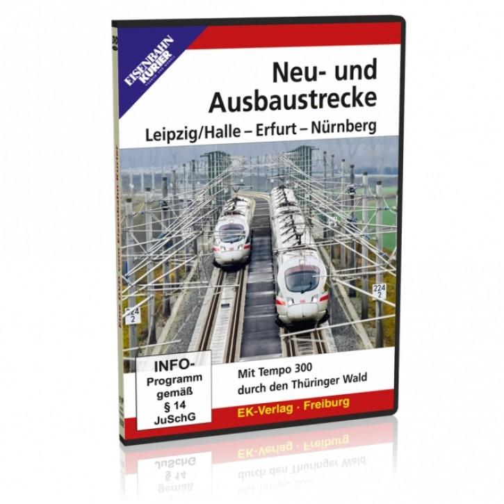 DVD: Neu- und Ausbaustrecke Leipzig/Halle - Erfurt - Nürnberg. Mit Tempo 300 durch den Thüringer Wald