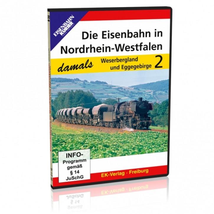 DVD: Die Eisenbahn in Nordrhein-Westfalen damals Teil 2: Weserbergland und Eggegebirge