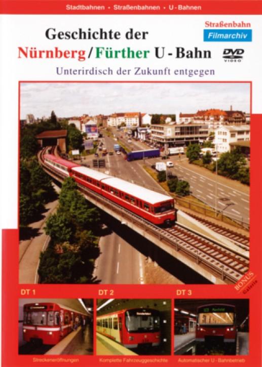 DVD: Die Geschichte der Nürnberg/Fürther U-Bahn