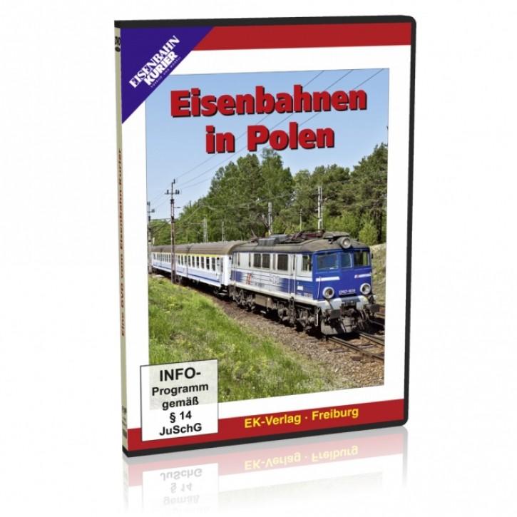 DVD: Eisenbahnen in Polen
