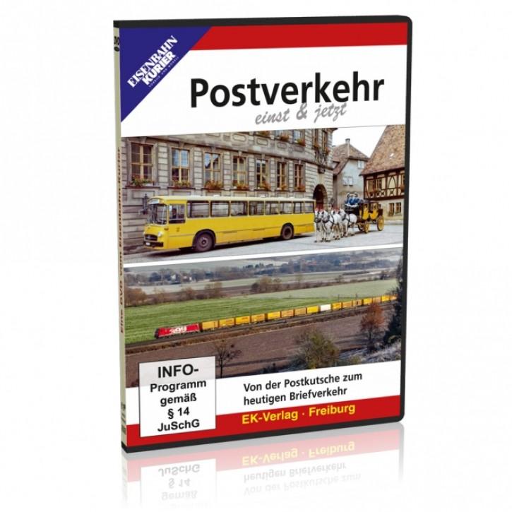 DVD: Postverkehr einst und jetzt. Von der Postkutsche zum heutigen Briefverkehr