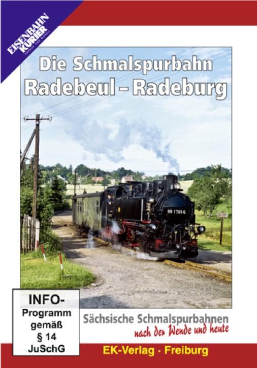 DVD: Die Schmalspurbahn Radebeul - Radeburg. Sächsische Schmalspurbahnen nach der Wende und heute