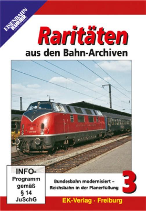 DVD: Raritäten aus den Bahn-Archiven 3