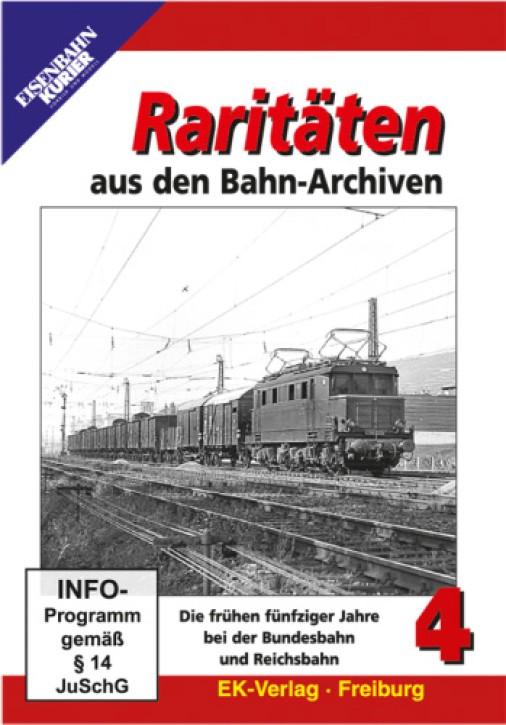 DVD: Raritäten aus den Bahn-Archiven 4
