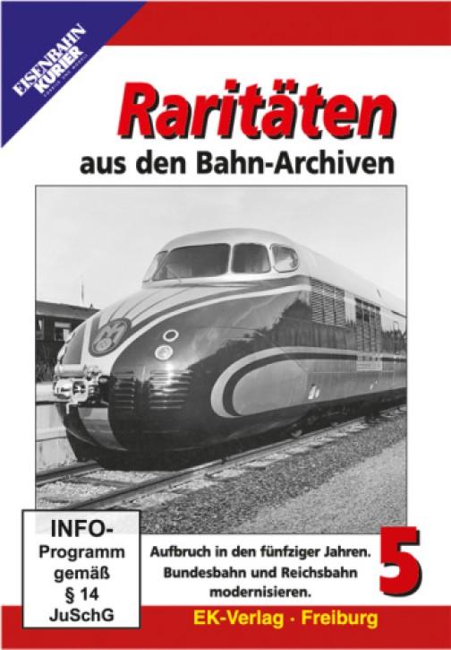 DVD: Raritäten aus den Bahn-Archiven 5
