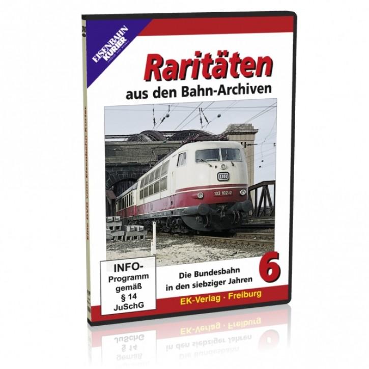 DVD: Raritäten aus den Bahnarchiven 6. Die Bundesbahn in den siebziger Jahren