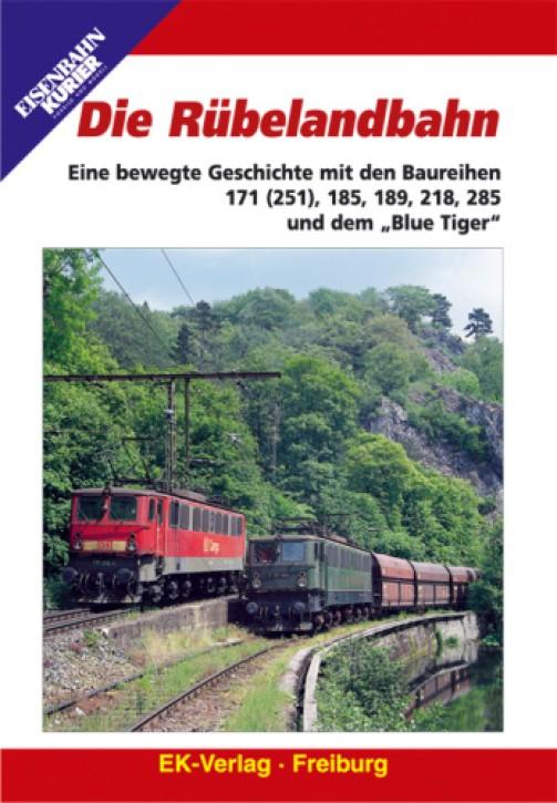 """DVD: Die Rübelandbahn. Eine bewegte Geschichte mit den Baureihen 171 (251), 185, 189, 218, 285 und dem """"Blue Tiger"""""""