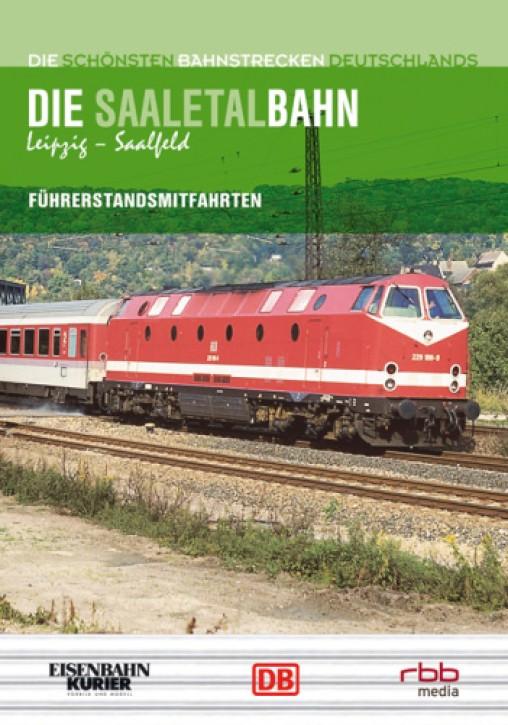 DVD: Die schönsten Bahnstrecken Deutschlands. Saaletalbahn Leipzig - Saalfeld