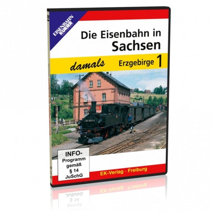 DVD: Die Eisenbahn in Sachsen damals Teil 1: Erzgebirge