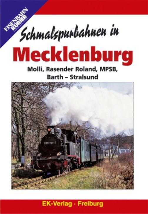 DVD: Schmalspurbahnen in Mecklenburg. Molli, Rasender Roland, MPSB, Barth - Stralsund