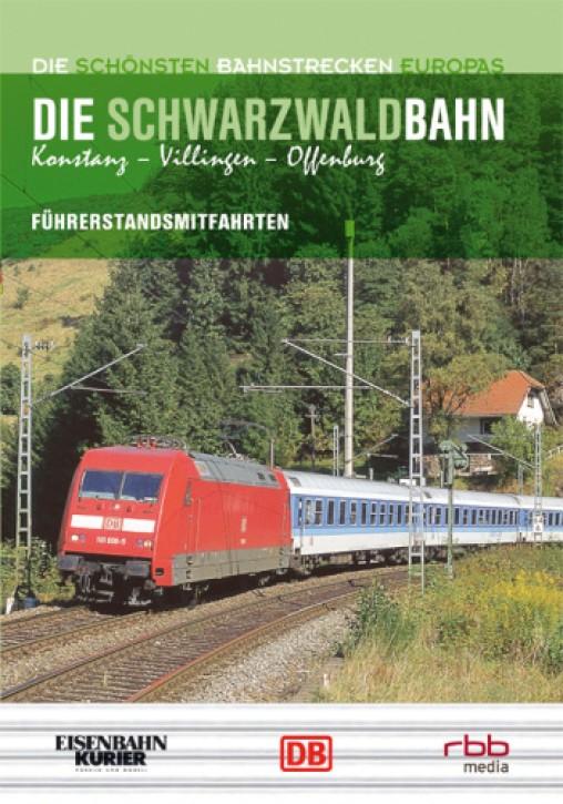 DVD: Die schönsten Bahnstrecken Europas: Schwarzwaldbahn. Konstanz - Villingen - Offenburg