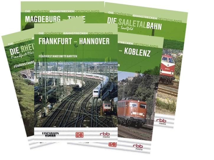 DVD-Sparpaket: Führerstandsmitfahrten Deutschland