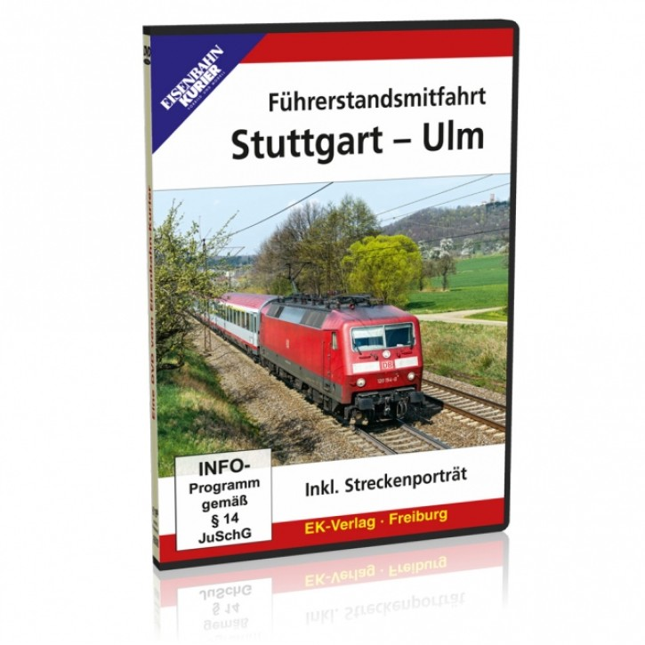 DVD: Stuttgart - Ulm. Führerstandsmitfahrt inklusive Streckenporträt