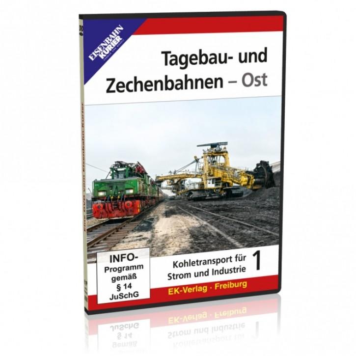 DVD: Tagebau- und Zechenbahnen - Ost. Kohletransport für Strom und Industrie