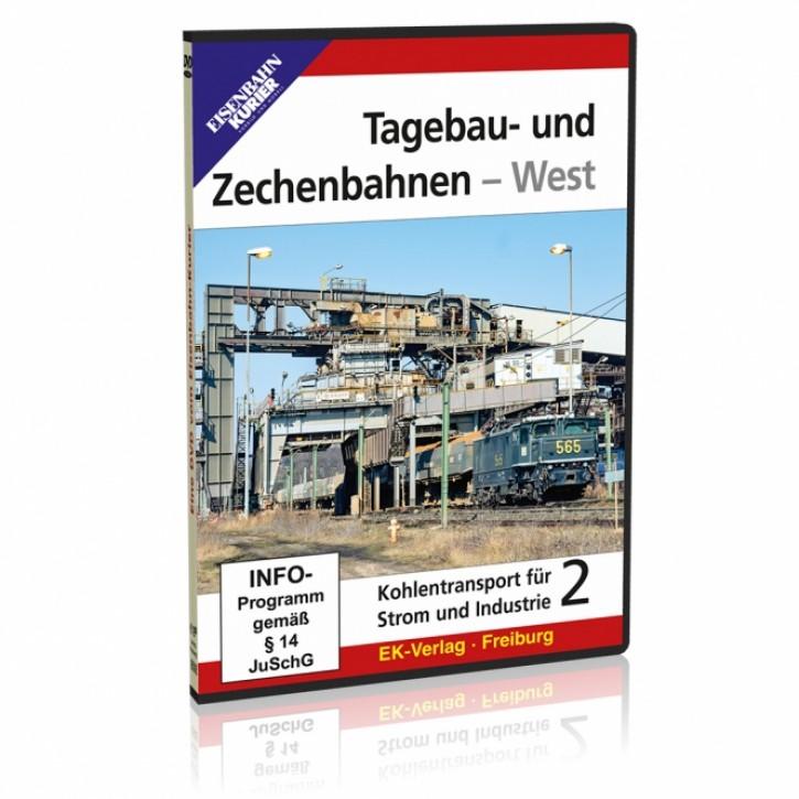 DVD: Tagebau- und Zechenbahnen - West. Kohletransport für Strom und Industrie