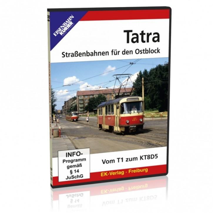 DVD: Tatra - Straßenbahnen für den Ostblock. Vom T1 zum KT8D5