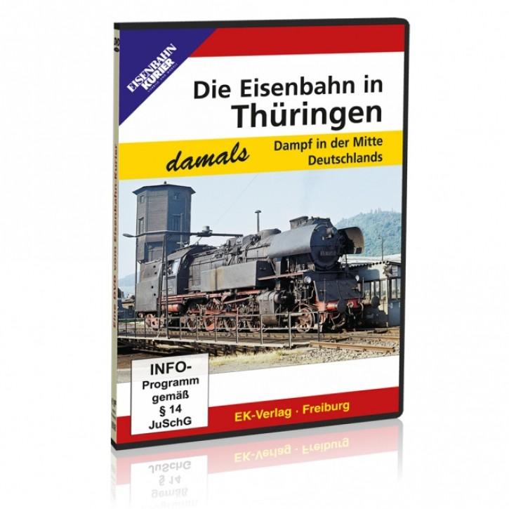 DVD: Die Eisenbahn in Thüringen - damals. Dampf in der Mitte Deutschlands
