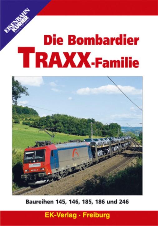 DVD: Die Bombardier TRAXX-Familie. Baureihen 145,146, 185, 186 und 246