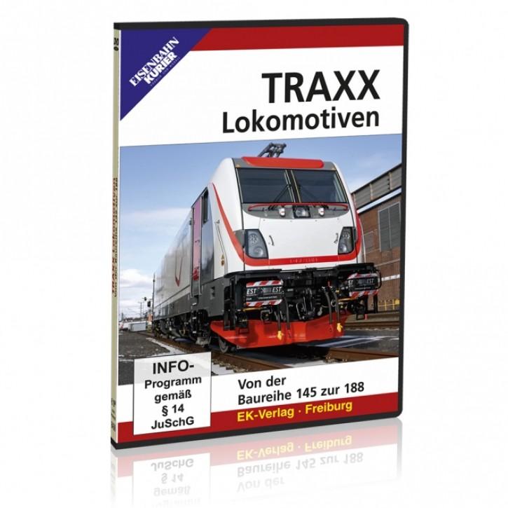 DVD: TRAXX Lokomotiven. Von der Baureihe 145 zur 188