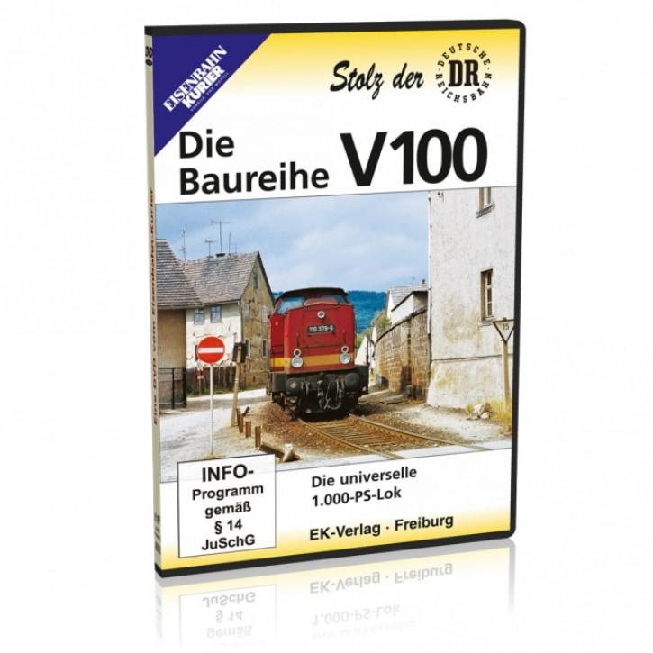 DVD: Stolz der DR. Die Baureihe V 100. Die universelle 1.000-PS-Lok