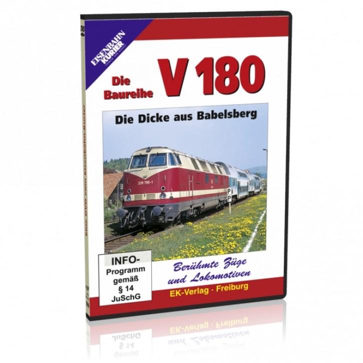 DVD: Die Baureihe V 180. Die Dicke aus Babelsberg