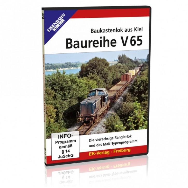 DVD: Die Baureihe V 65. Baukastenlok aus Kiel. Die vierachsige Rangierlok und das MaK-Typenprogramm