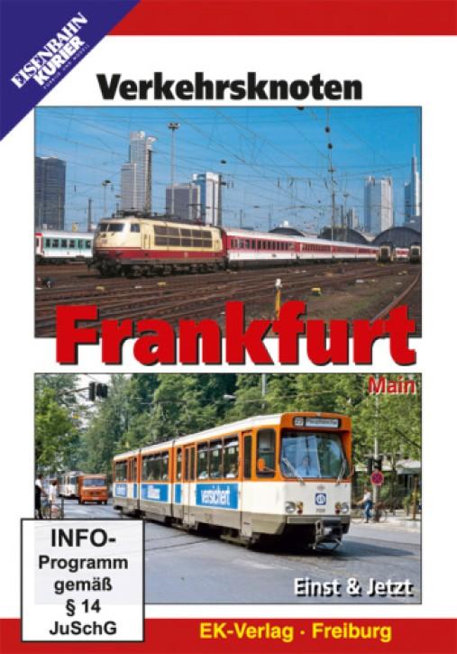 DVD: Verkehrsknoten Frankfurt. Einst & Jetzt