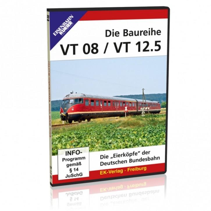 DVD: Die Baureihen VT 08.5 / VT 12.5