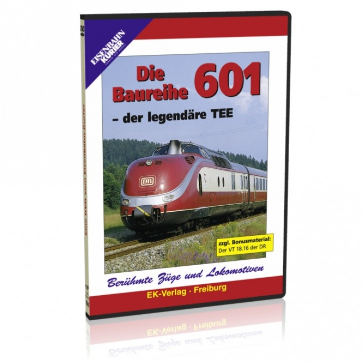 DVD: Die Baureihe VT 601 - der legendäre TEE
