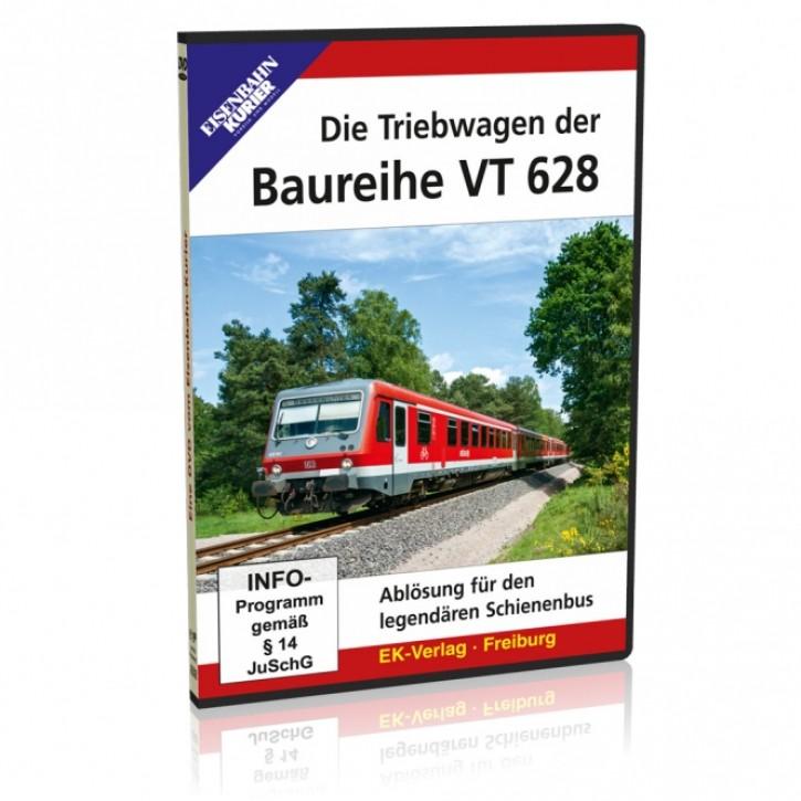 DVD: Die Triebwagen der Baureihe VT 628. Ablösung für den legendären Schienenbus
