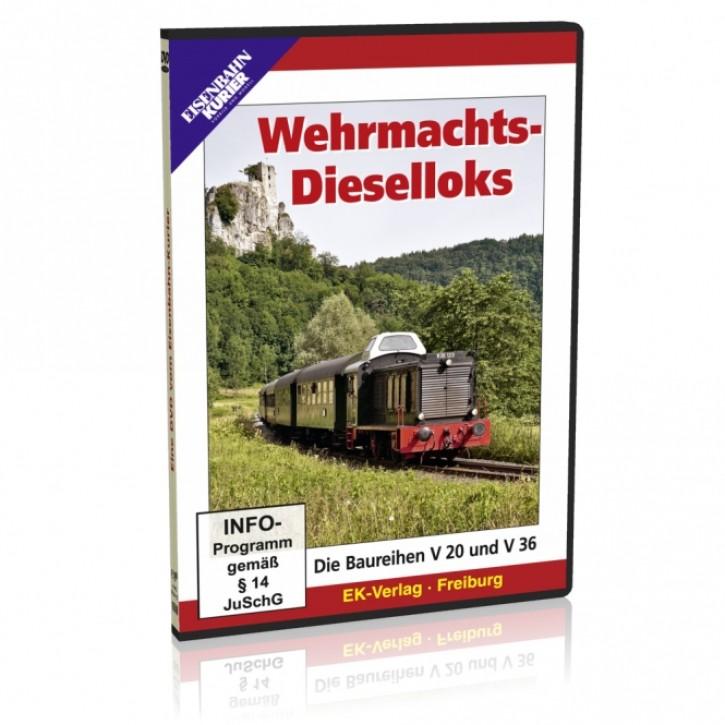 DVD: Wehrmachts-Dieselloks. Die Baureihen V 20 und V 36