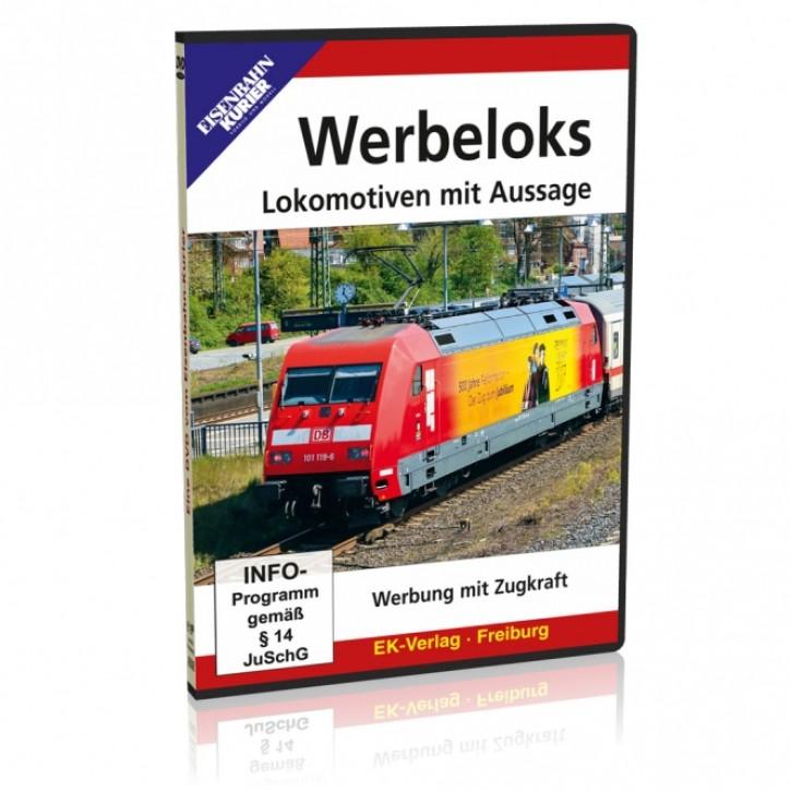 DVD: Werbeloks. Lokomotiven mit Aussage - Werbung mit Zugkraft
