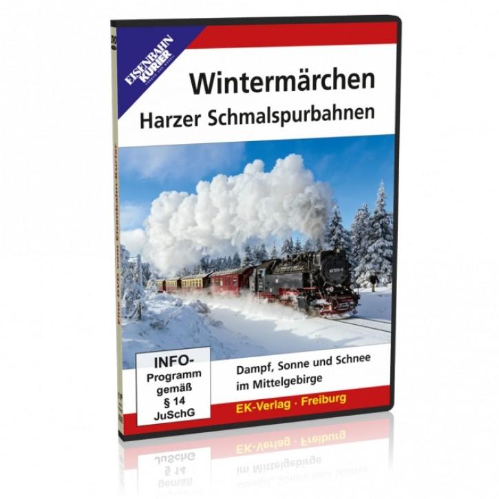 DVD: Wintermärchen. Harzer Schmalspurbahnen - Dampf, Sonne und Schnee im Mittelgebirge