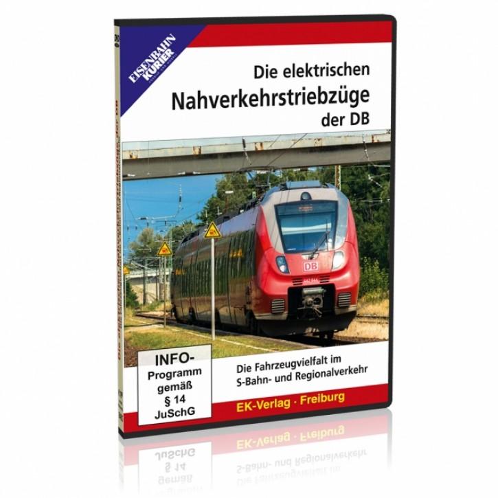 DVD: Die elektrischen Nahverkehrstriebzüge der DB