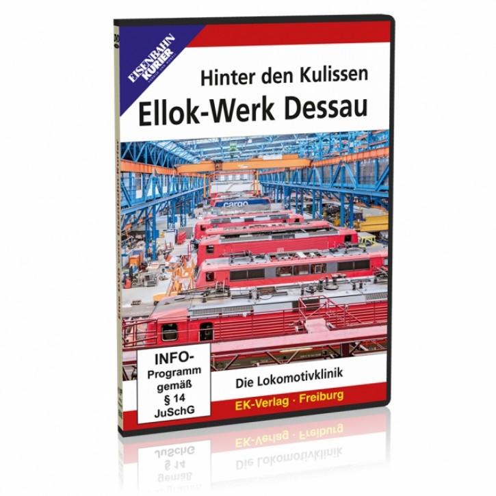 DVD: Hinter den Kulissen: Ellok-Werk Dessau. Die Lokomotivklinik