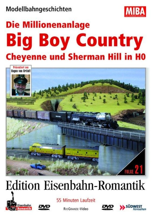 DVD: Big Boy Country in H0 - Die Millionenanlage