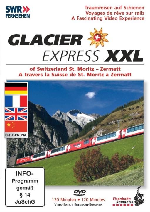 DVD: Glacier Express XXL. Ein Zug zum Verlieben