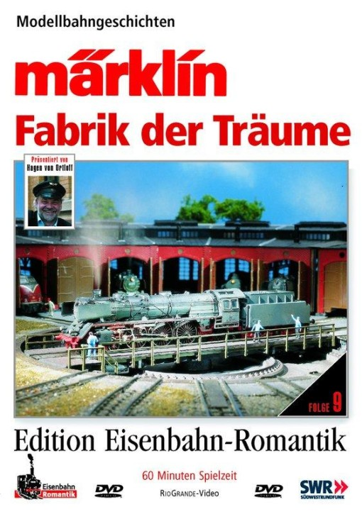 DVD: Märklin - Fabrik der Träume