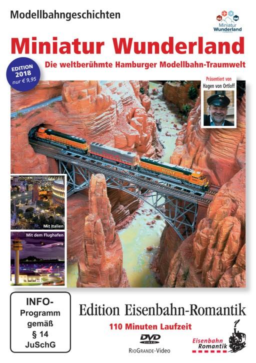 DVD: Das Miniatur Wunderland. Die weltberühmte Hamburger Modellbahn-Traumwelt