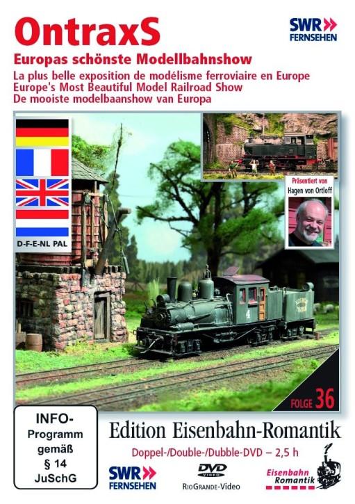 DVD: OntraxS. Europas schönste Modellbahnshow