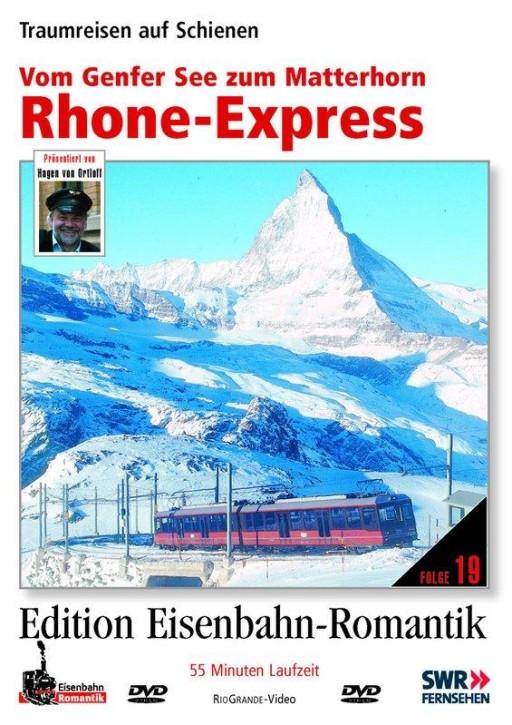 DVD: Rhone-Express - Vom Genfer See zum Matterhorn