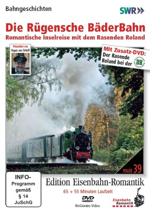 DVD: Die Rügensche BäderBahn. Romantische Inselreise mit dem Rasenden Roland (inkl. Zusatz-DVD)