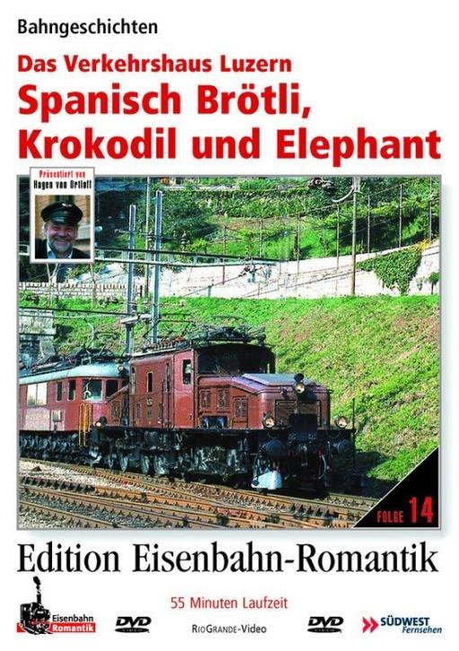 DVD: Spanisch Brötli, Krokodil und Elephant